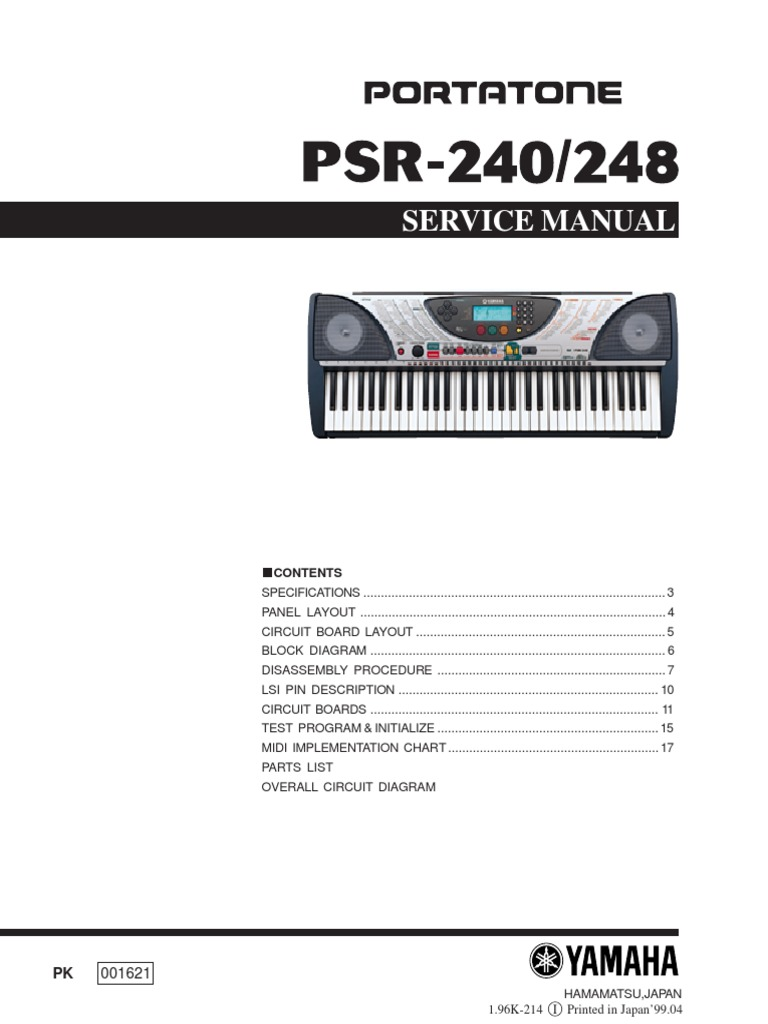 Prime Yamaha Psr 240 Service Manual Input Output Printed Circuit Board Wiring Digital Resources Jebrpcompassionincorg