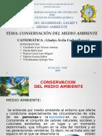 Conservacion Del Medio Ambiente