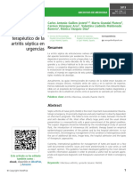 Gua de Manejo Diagnstico y Teraputico de La Artritis Sptica en Urgencias
