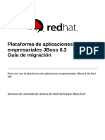JBoss Enterprise Application Platform 6.3 Migration Guide Es ES