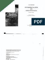 67412979 Hodder Ian Interpretacion en Arqueologia Cap 1 7 y 9