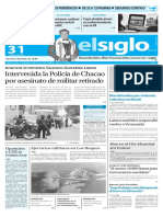 Edición Impresa El Siglo 31-05-2016