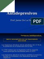 Antidepresivos. 2016