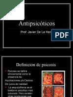 Neurolépticos - Antipsicóticos. 2016
