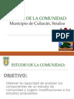Estudio de La Comunidad Culiacan