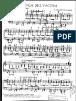 Camargo Guarnieri - Dança Selvagem, Para Piano