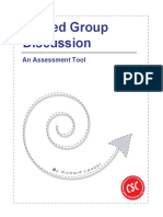 Discussion Group Guidelines-Rubric