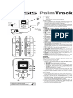 Alesis Palmtrack Manual