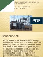 Armónicos en Las Corrientes de Excitación en Transformadores