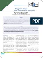 21_229Analisis-Doxycycline Sebagai Kemoprofi Laksis Malaria Untuk Wisatawan