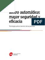 Automatización Del Metro de Barcelona L9_10