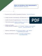 Piano Della Ricerca Report