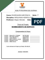 Ficha Do Projeto, Faculdade Pitágoras de Goiânia