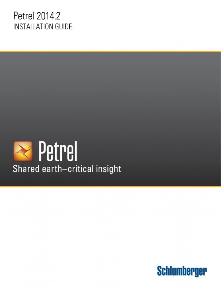 Petrel 2014 Installation Guide | Graphics Processing Unit