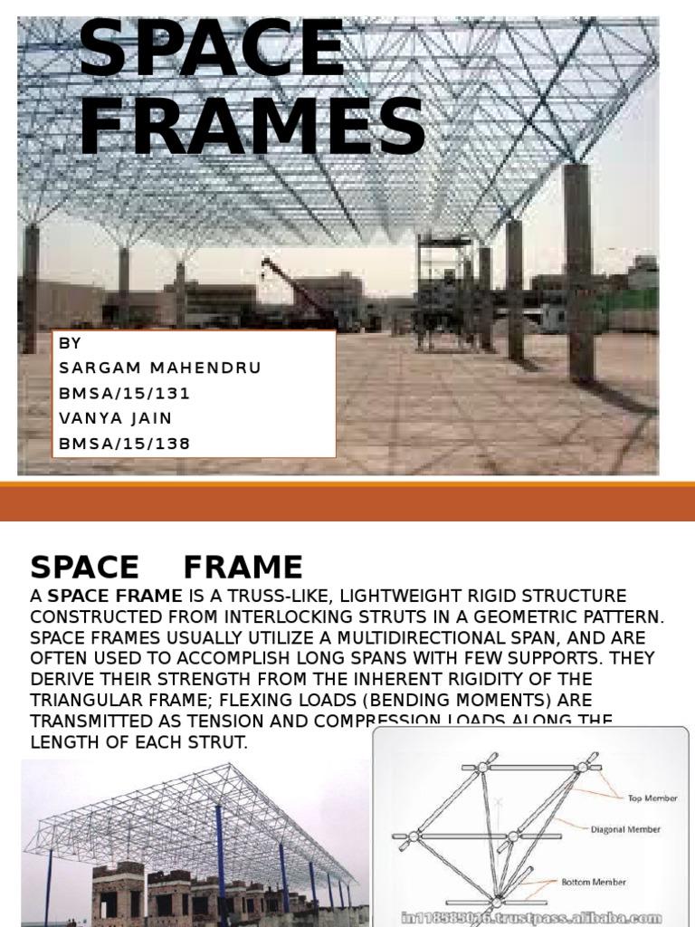145795949-Space-Frames.pptx | Truss | Screw