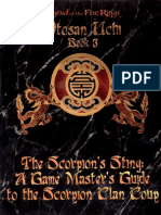[Serie O-3] Otosan Uchi 3 - El Golpe Del Clan Escorpión [Trasfondo Para El Golpe Escorpión][Inglé