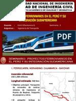 Seminario Proyectos Ferroviarios en El Perú