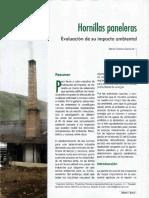Hornilla Paneleras Ev Imp Ambiental