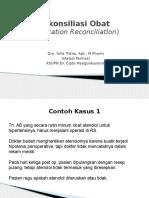 Rekonsiliasi Obat - KARS Malang 2014