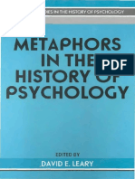 Metaphors in the History of Psychology
