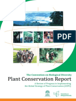 Plant Conservation Report En