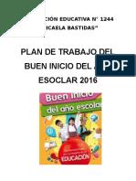 El Buen Inicio Escolar 2016