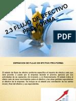 Flujo de Efectivo Pro-Forma