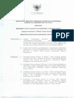 KMK No. 933 Ttg Pedoman Tata Laksana Flu Burung Di RS