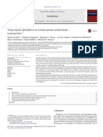 Using Organic Phosphorus to Sustain Pasture Productivity