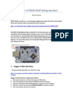 Summary of FRDM-K64F Debug Interface