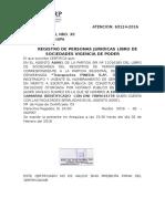 Mayo 18 Poder Legal