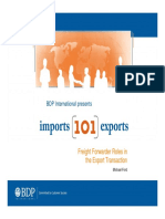 Export 101 Freight Forwarder Roles in the Export Transactions (1)