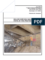 Hollow Core Soil Nails State of the Practice