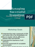 Managing Successful IT Transitions