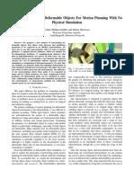ARepresentationOfDeformableObjectsForMotionPlanningWithNoPhysicalSimulation
