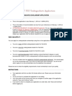 diversity scholarship app