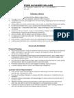 Resume Financial Advisor/ Pastor