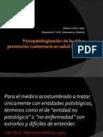 Psicopatologización de La Vida y Prevención Cuaternaria en Salud Mental