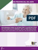 Programa Igualdad Deteccion Violencia Genero 3 Edad