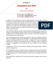 Companies Act 2013 Seminar