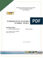 TURISMO EN PLAYAS DEL NORTE