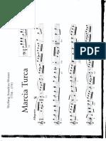 Mozart - Marcia Turca (Melodia e Accordi)