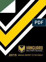 Vanguard Military School Annual Report 2015