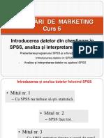 Studenti - Curs 6 - Cercetări de Marketing-spss