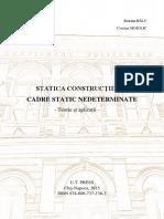 Statica Constructiilor II 2016
