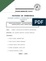 Proyecto de Inversion Galletas a Base Productos Andinos Quinua Avena Cañihua Kiwicha