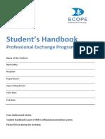 SCOPE Student's Handbook