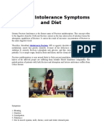 Fructose Intolerance Symptoms and Diet.docx