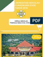 Persiapan Akreditasi Syurdik 2016