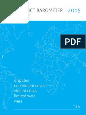 ConflictBarometer_2015   Burundi   Violence